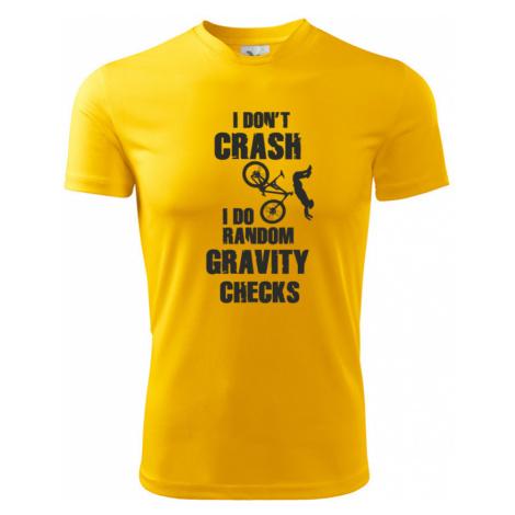 Pánské MTB tričko pro cyklisty RANDOM GRAVITY CHECKS BezvaTriko