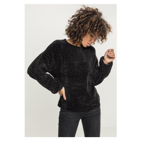 Ladies Oversize Chenille Sweater Urban Classics