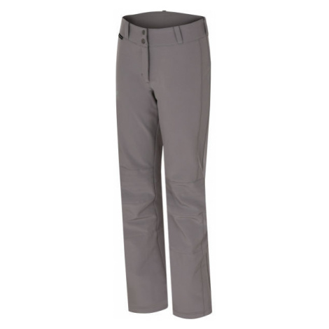 Hannah ILIA šedá - Dámské lyžařské softshellové kalhoty