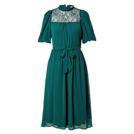 Dorothy Perkins Šaty 'BILLIE & BLOSSOM' tmavě zelená