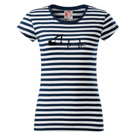 EKG bagr - Sailor dámské triko