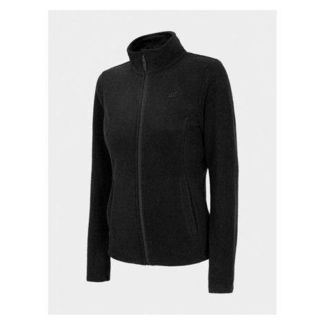 Dámská fleece mikina NOSH4-PLD001-20S DEEP BLACK 4F