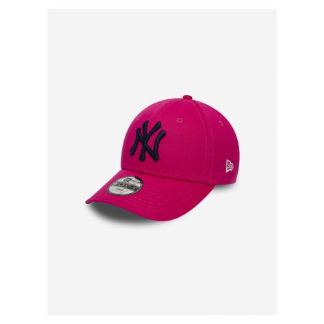 940 MLB New York Yankees Kšiltovka dětská New Era Růžová