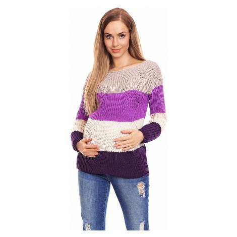 Těhotenský svetr model 132023 PeeKaBoo universal Pee Ka Boo
