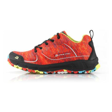 ALPINE PRO LARIA Dámská outdoorová obuv LBTR229324 ostře oranžová