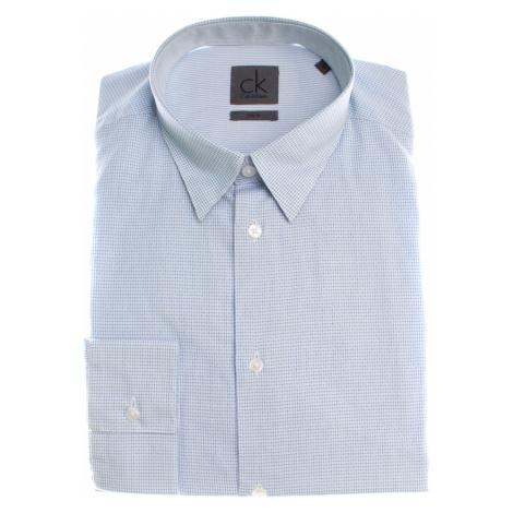 Calvin Klein pánská modrá košile
