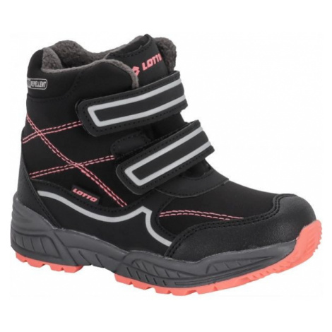 Lotto COPPER černá - Dětská zimní obuv