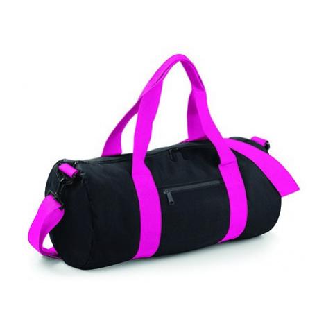 Barel taška BB - černá/Fuchsia