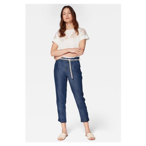 Mavi kalhoty s výsokým pasem 100859-28631