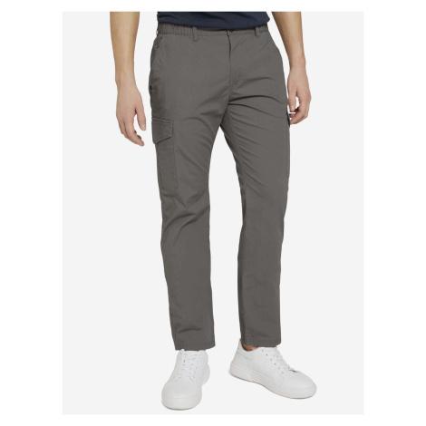 Travis Cargo Kalhoty Tom Tailor Šedá