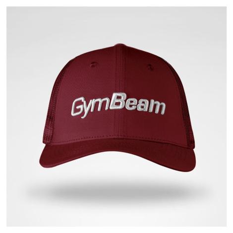 Kšiltovka Mesh Panel Cap Burgundy uni - GymBeam