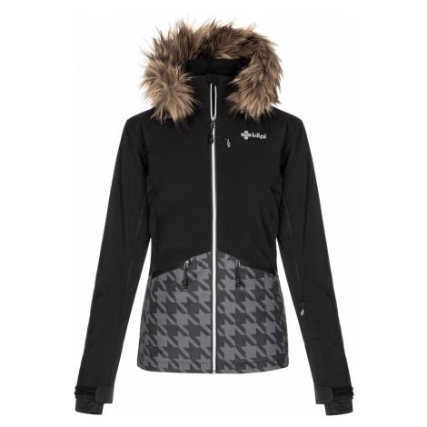 KILPI Dámská lyžařská bunda - větší velikosti TESSA-W LLX042KIBLK Černá
