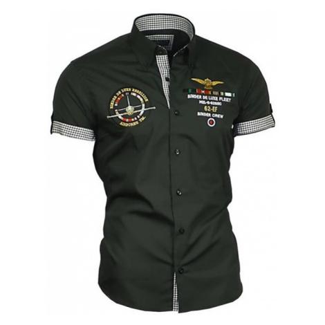 BINDER DE LUXE košile pánská 82607 krátký rukáv