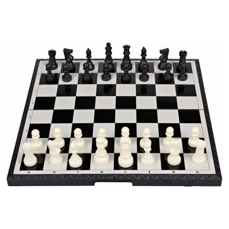 Šachy magnetické velké společenská hra v krabici 48x25x6cm Merco