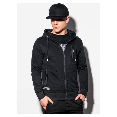 Ombre Clothing Men's zip-up sweatshirt B1086