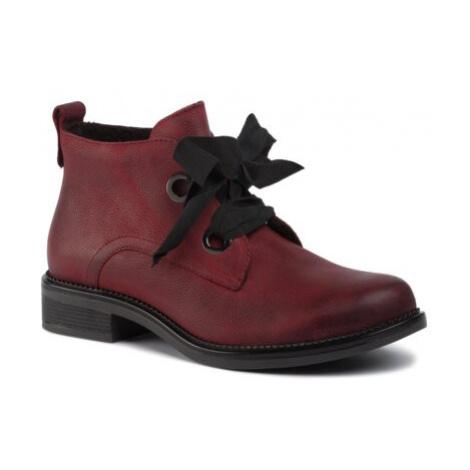 Šněrovací obuv Lasocki RST-TULIA-14 Přírodní kůže (useň) - Lícová
