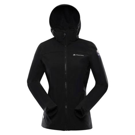 ALPINE PRO NOOTKA 8 Dámská softshellová bunda LJCS412990 černá