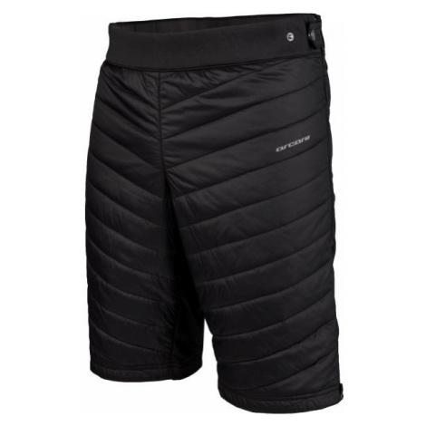 Arcore ALBAN černá - Pánské zateplené šortky
