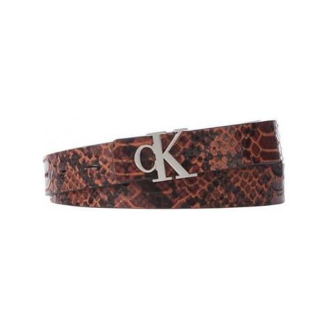 Calvin Klein Jeans K60K606879 Hnědá