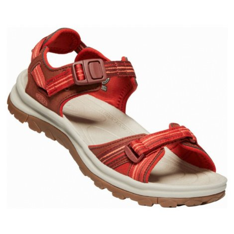 KEEN TERRADORA II OPEN TOE SANDAL W Dámské sandály 10012448KEN01 dark red/coral