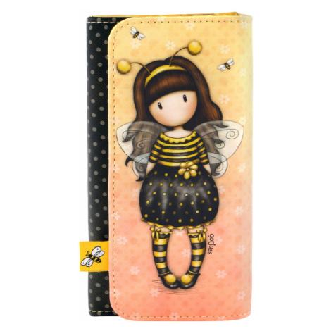 Santoro žlutá peněženka Gorjuss Bee-Loved (Just Bee-Cause) Santoro London