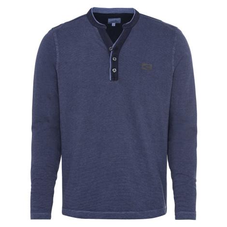 Tričko Camel Active H-Sweatshirts - Modrá