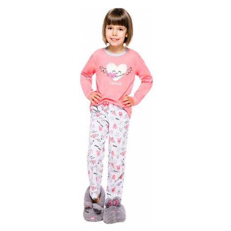 Dětské pyžamo Maja růžové Taro