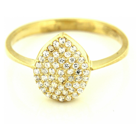 Zlatý prsten 15452 AMIATEX