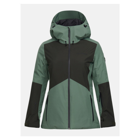 Bunda Peak Performance W Anima Gtx Jacket - Zelená