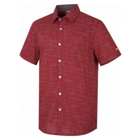 Košile s krátkým rukávem HUSKY Grimy červená