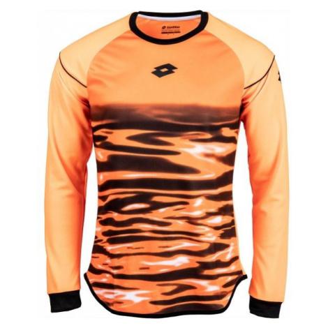 Lotto JERSEY LS CROSS GK oranžová - Pánský brankářský dres