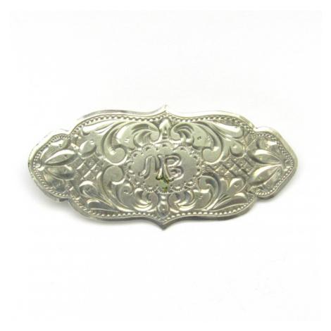 AutorskeSperky.com - Stříbrná brož - S2730