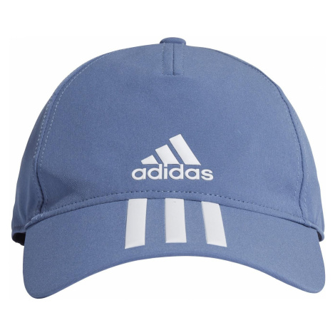 Dětská kšiltovka adidas AEROREADY 3-Stripes Baseball Modrá / Bílá