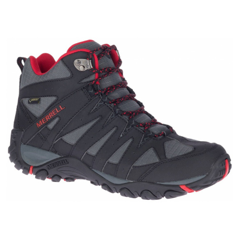 Pánské boty Merrell Accentor Sport 2 Mid Gtx černá/červená