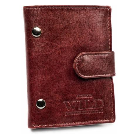 Malá kožená peněženka pro pány se západkou Always Wild