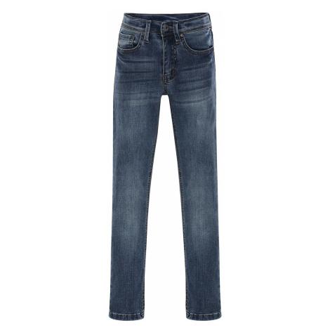Dětské kalhoty Alpine Pro ALGODO - modrá