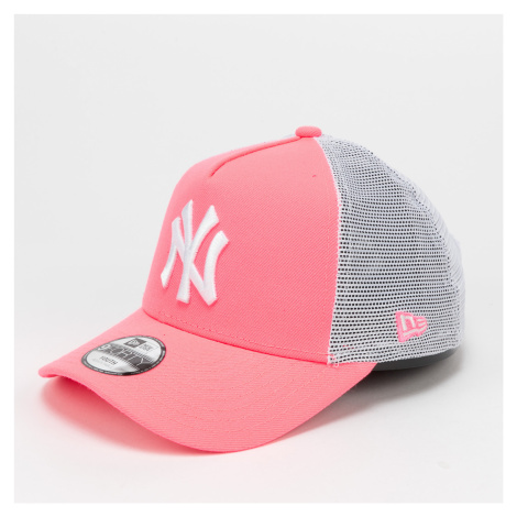 New Era 940K Aframe MLB Chyt Tonal NY neon růžová / bílá CHILD (52 - 54 cm)
