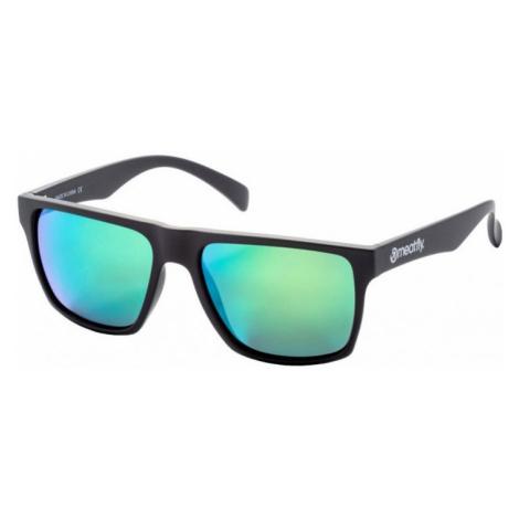 Brýle Meatfly Trigger black matt, green
