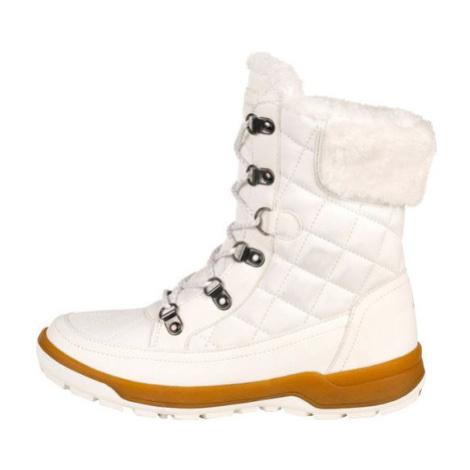ALPINE PRO GERAINA Dámská zimní obuv LBTS281000 bílá