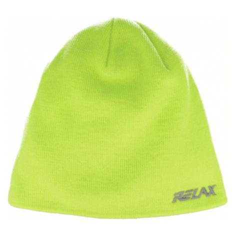 RELAX GUMBLE Zimní čepice RKH141C žlutá XXL