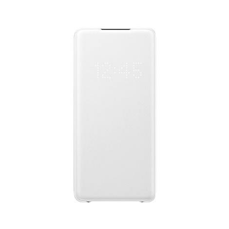Samsung Flipové pouzdro LED View pro Galaxy S20+ bílé