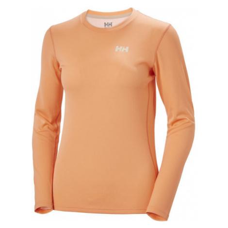Helly Hansen LIFA ACTIVE SOLEN LS oranžová - Dámské triko