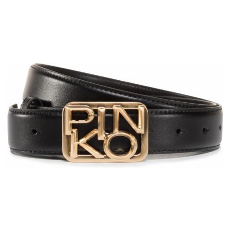 Černý kožený pásek - PINKO