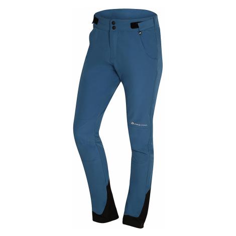 Dámské softshellové kalhoty Alpine Pro SPIDA - modrá