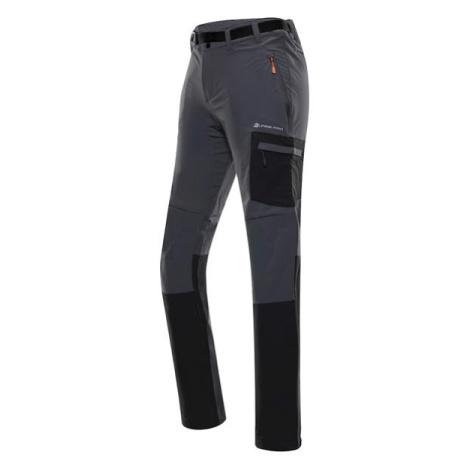 Dana šedá dámské softshellové kalhoty s impregnací ALPINE PRO