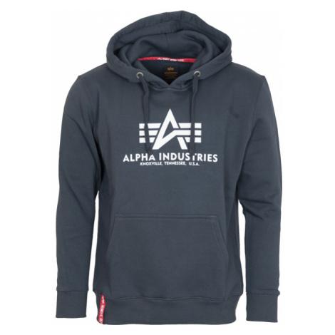 Alpha Industries Mikina Basic Hoody navy