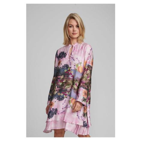 Nümph 7420822 NUBAYLEAH Dámské šaty 2535 LILAC SAC růžová