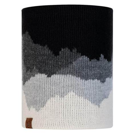 Buff Neckwarmer Buff Knitted Polar Fleece Sveta- black black