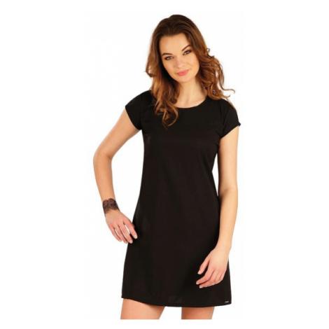 Dámské šaty s krátkým rukávem Litex 5A321 | černá