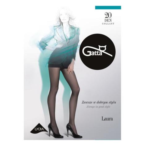 Dámské punčochové kalhoty LAURA 20 - LYCRA černá Gatta